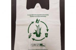 Csomagolóanyagok környezetbarát eljárással készítve.