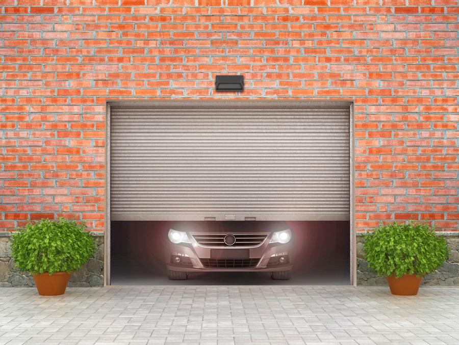 szekcionált garázskaput